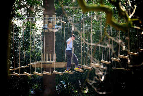 Skywalk Adventure - Two high rope course experiences for two - Save 52%