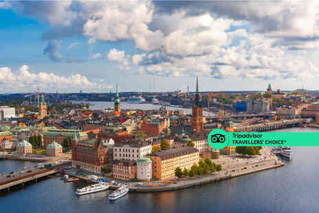 Weekender Breaks - A Stockholm, Sweden hotel stay with breakfast - Save 22%