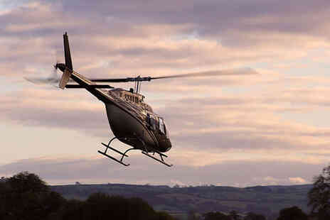 Whizzard Helicopters - 50 mile helicopter tour over Snowdonia with a coastal option - Save 0%