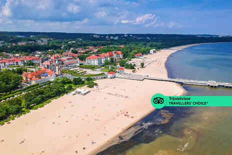 Weekender Breaks - Sopot, Poland hotel stay with return flights - Save 33%