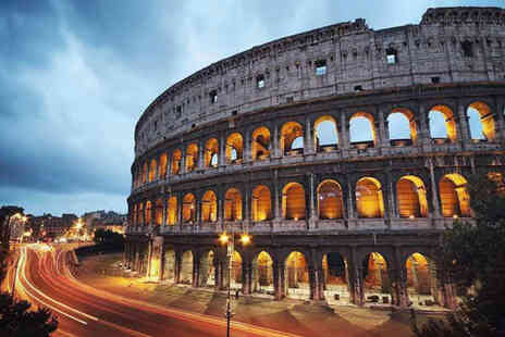 Weekender Breaks - A Rome, Italy stay with return flights - Save 31%