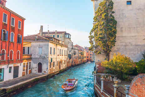 Weekender Breaks - A Venice, Italy hotel stay with return flights - Save 52%