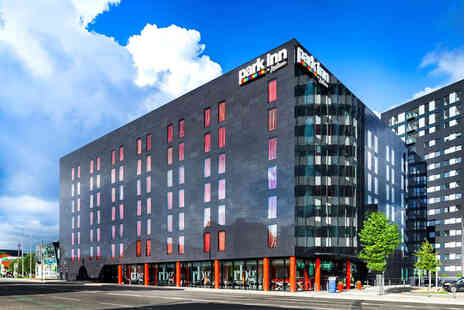Park Inn by Radisson - A central Manchester stay for two with one bottle of Prosecco to share, breakfast - Save 44%