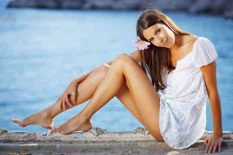 Blonde Moments - File and polish on fingers or toes, plus waxing voucher - Save 70%