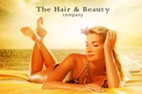 The Hair and Beauty Company - Choice of Two Beauty Treatments Such as Gel Nails and Spray Tan - Save 60%