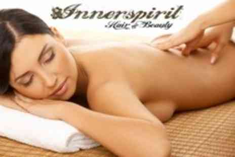 Innerspirit Hair and Beauty - Massage Such as One Hour Aromatherapy Plus Mini Facial - Save 63%
