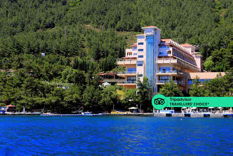 Super Escapes Travel - An all inclusive Bodrum, Turkey hotel stay with return flights - Save 64%