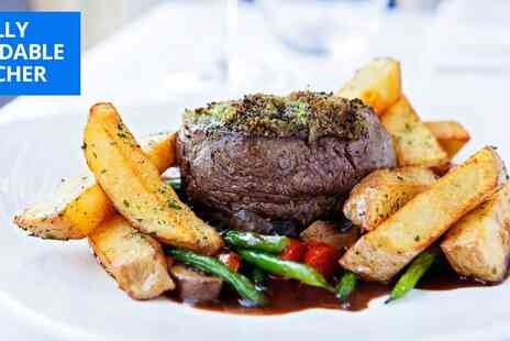 315 Bar & Restaurant - Fillet steak meal for Two - Save 44%