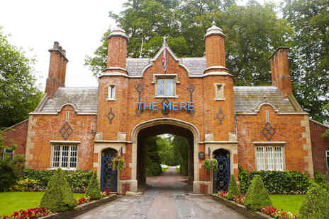 The Mere Golf & Country Club - A Knutsford, Cheshire hotel stay for two people with breakfast - Save 38%