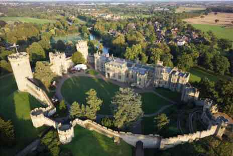 Virgin Experience Days - Winter Visit to Warwick Castle Two Adults and One Child - Save 0%