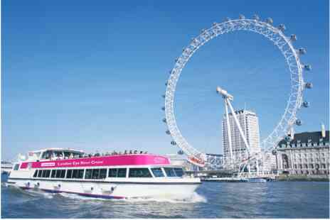 Virgin Experience Days - Visit to Lastminute London Eye with London Eye River Cruise - Save 0%