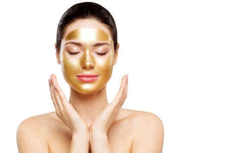 Fit Skin Eden - 24k gold facial with enzyme peel and LED light treatment - Save 83%