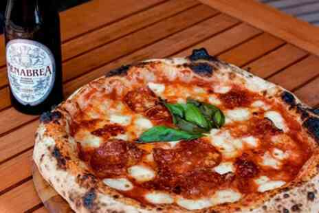 Dough Dough - Pizza Meal with Drink for Up to Four - Save 53%
