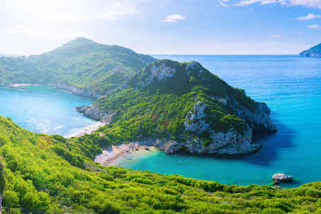 Super Escapes Travel - An All inclusive Corfu, Greece stay with return flights - Save 41%