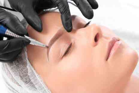 Natalief Brows - Microblading Treatment with Top Up - Save 60%