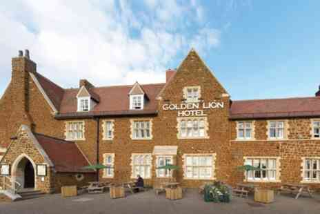The Golden Lion Hotel - Double Room for Two with Breakfast and Two Course Dinner - Save 27%