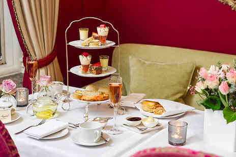 The Capital Hotel - Afternoon tea for two people including a cocktail pitcher - Save 62%