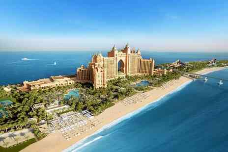 Atlantis The Palm Dubai - Luxury Iconic Hotel with Waterpark & Aquarium - Save 0%