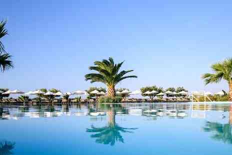 Lindos Breeze Beach Hotel - Stylish Resort with Stunning Spa Services for two - Save 11%
