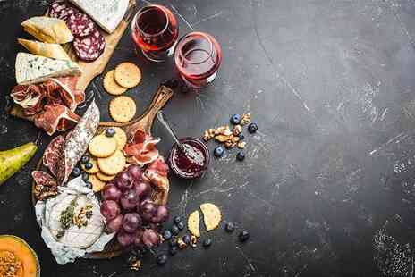 Le Cassis - Charcuterie board and bottle of wine for two people to share - Save 60%