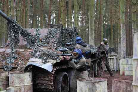 Paintball Park - Day of paintballing for up to 10 people - Save 94%