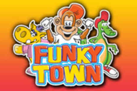 Funky Town Chester - Entry to Funky Town play centre with lunch - Save 62%