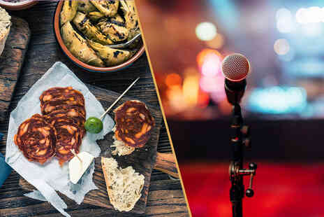 Bundled Deals - Tapas plates, churros and a jug of sangria for two people to share - Save 66%