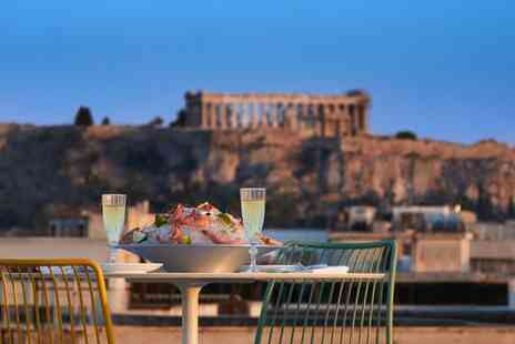 Brown Acropol Athens - Boutique Stay in Central Athens with Breathtaking Rooftop Bar Views of Acropolis - Save 77%