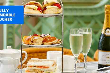 Lamphey Court Hotel & Spa - Afternoon tea & bubbly for 2 in Pembrokeshire - Save 50%