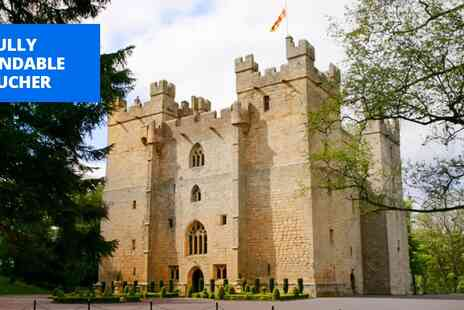 Langley Castle Hotel - Northumberland castle stay with bottle of wine - Save 50%