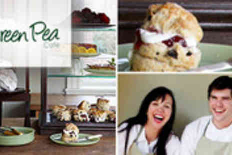 Green Pea Cafe - Afternoon tea for two at family-run gastro cafe - Save 57%