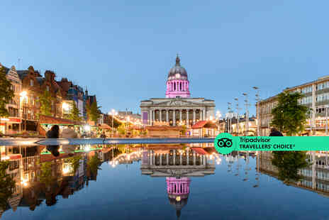 Jurys Hotel Management - A Central Nottingham hotel stay for two people with breakfast - Save 40%