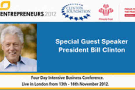 Blak Pearl - Gain access to Entrepreneurs 2012 With guest speakers including President Clinton - Save 86%