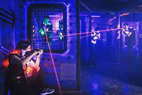 Laser Quest Preston - Two games of laser quest for one person - Save 50%