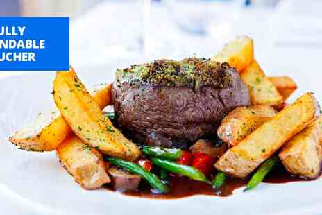 315 Bar & Restaurant - Fillet steak meal for 2 - Save 44%