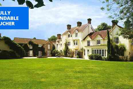 Esseborne Manor Hotel - Hampshire manor stay inc dinner & cream tea - Save 45%