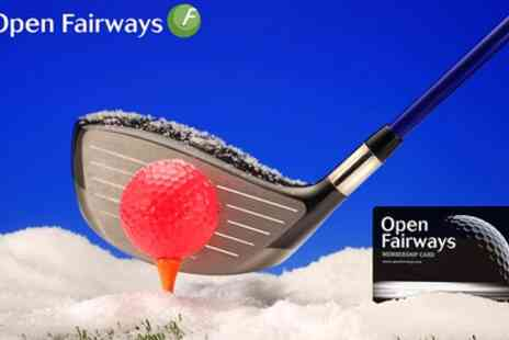 Open Fairways - Up to 18 Month Golf Privilege Card - Save 0%