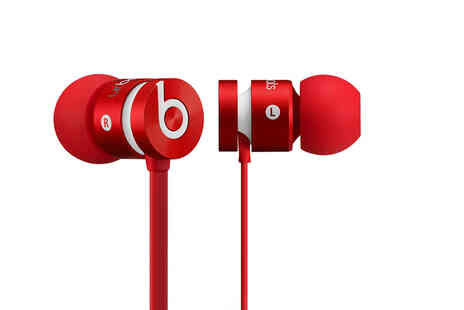 Renew Electronics - Pair of red refurbished Beats 2 earphones - Save 64%