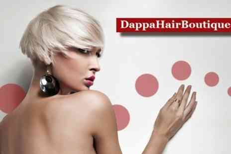 Dappa Hair Boutique - Haircut and Conditioning Treatment - Save 61%