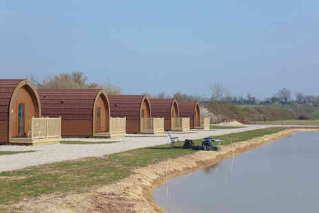 Janson Fishery - A Nottingham glamping stay for a family of three or four - Save 42%