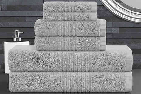 Bliss Home Living - Six piece towel bale - Save 58%