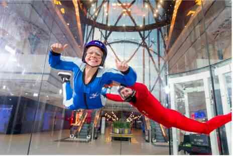 Virgin Experience Days - IFLY Indoor Skydiving for Two - Save 0%