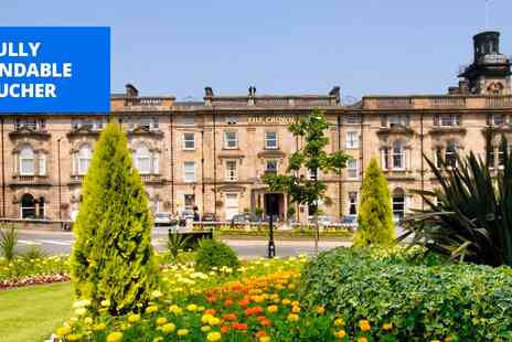 The Crown Hotel - Central Harrogate escape with meals - Save 45%