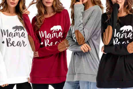 I Nod - Mama bear lightweight sweatshirt - Save 68%