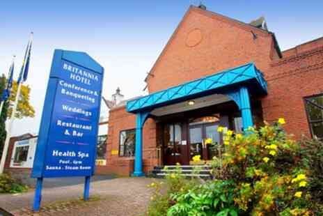 Britannia Stockport Hotel - One Night for Two with Option for Breakfast - Save 0%