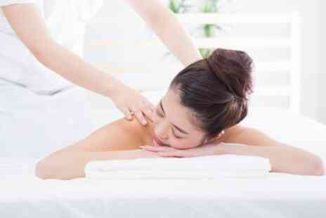 BEKE Unisex Salon & Beauty - Back Massage with Facial or Swedish Full Body Massage - Save 50%