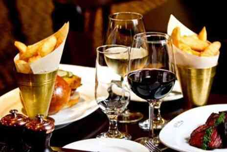 Reform Social and Grill - Two or Three Course Lunch with Glass or Bottle of Wine for Two - Save 59%