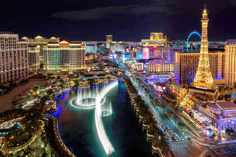 Weekender Breaks - A Las Vegas, USA hotel stay with return flights - Save 52%