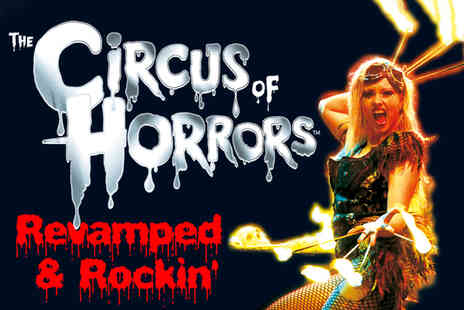 The Circus of Horrors - Spook up your nights out with a ticket - Save 39%
