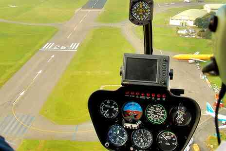 Flying Pig Helicopters - Hands on 30 min helicopter flying experience - Save 50%